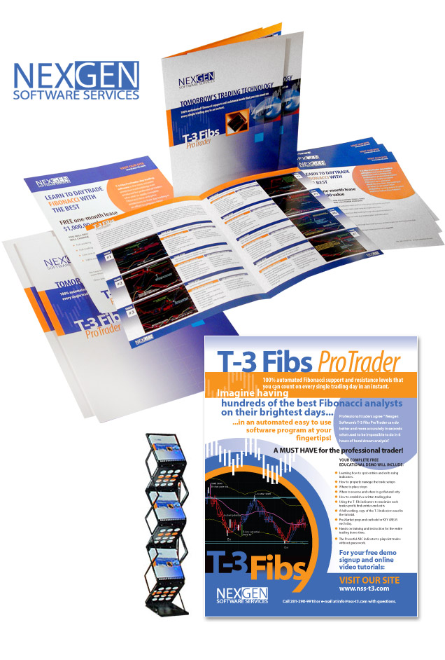 Software Print Design, Software Brochure Design - Lightmix