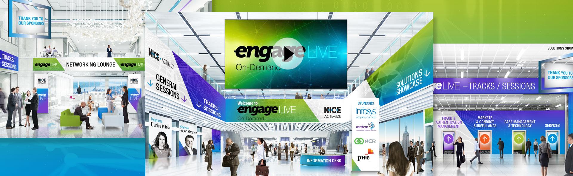 Virtual Event Design and branding