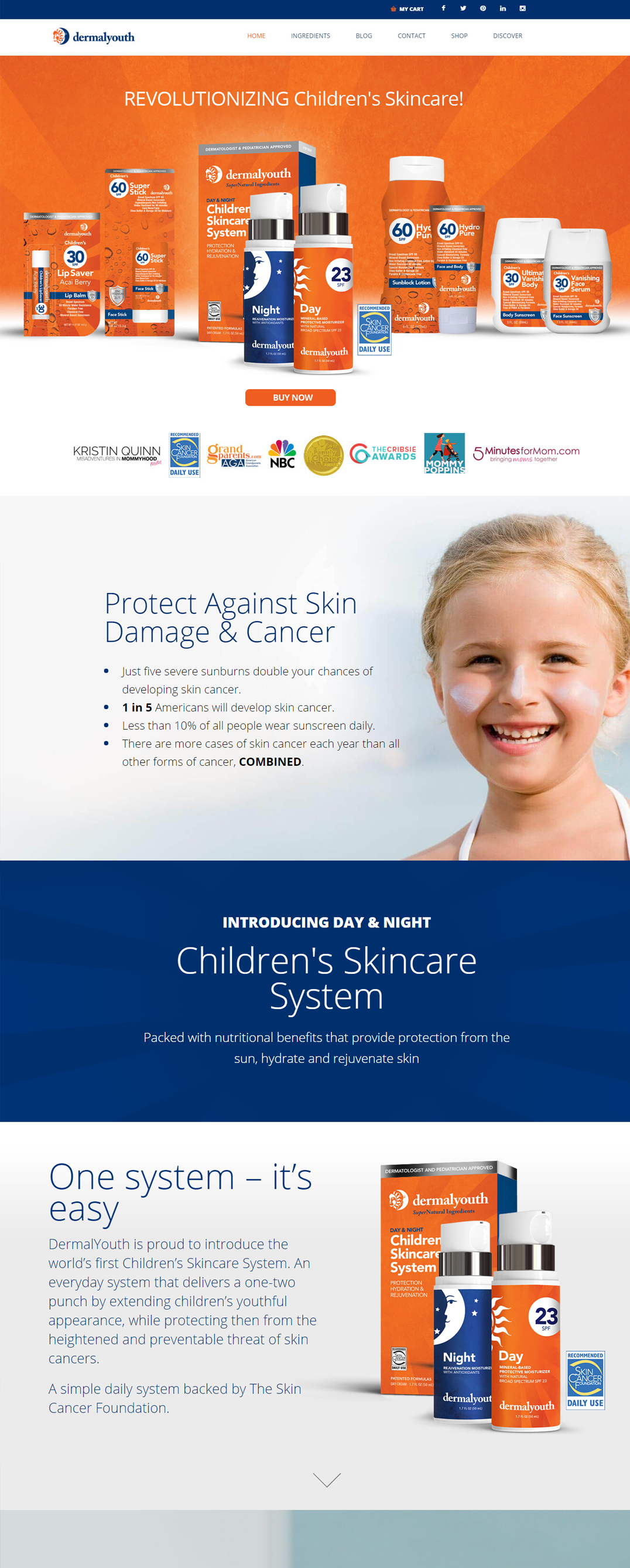 Skincare Website Design Skincare Company Marketing Lightmix